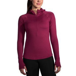 Hoodie thermal notch Brooks pour femme