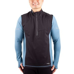 Haut demi-zip Running Room Extreme Mix Media pour hommes