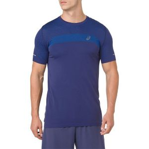 Asics Men's Seamless Texture Short Sleeve Run Tee